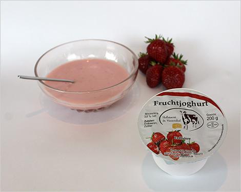 Joghurt Frucvhtjoghurt vom St. Vinzenzhof