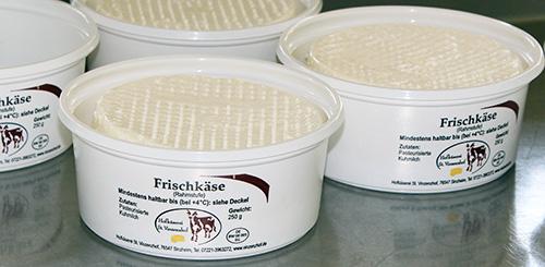 Frischläse aus der hofeigenen Käserei