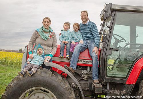 Gabriel Hurst und seine Familie, Betriebsleiter St. Vinzenzhof