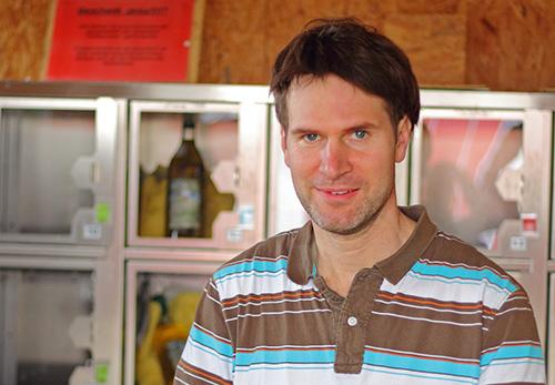 Michael Hurst Betriebsleiter auf dem St. Vinzenzhof