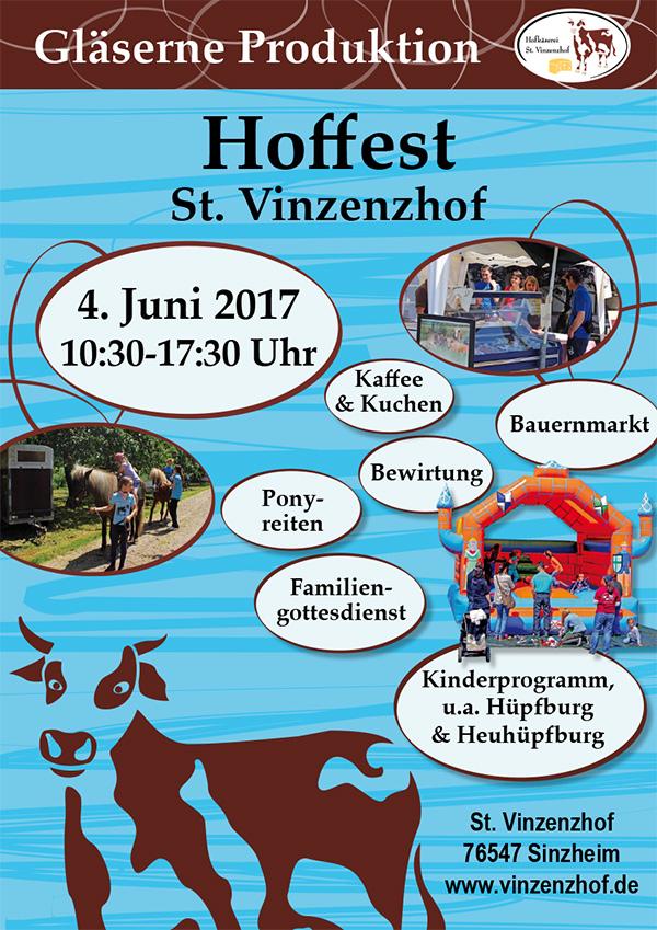 St. Vinzenzhof Hoffest 2017
